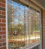 Decorative window chains