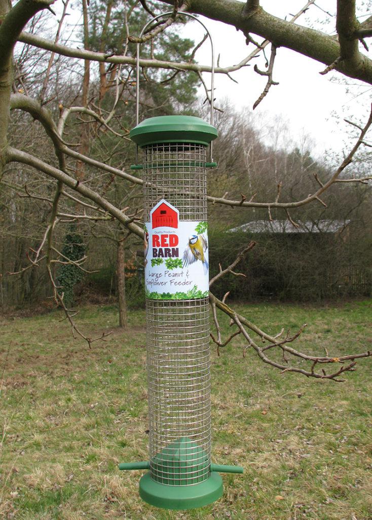 Nut dispenser by Red Barn